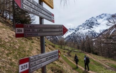 Valtellina: sentieri tra Italia e Svizzera