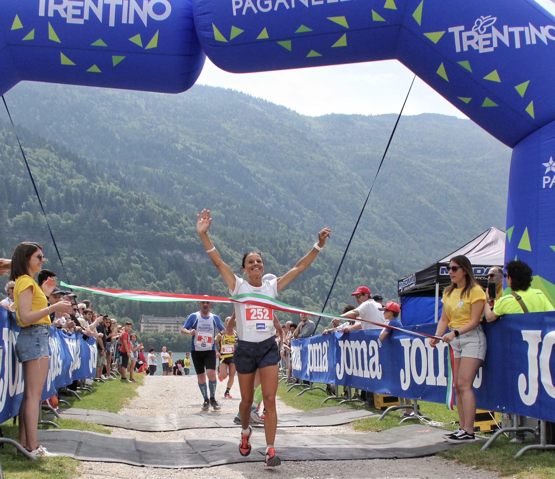 Arrivo Simonetta Menestreina Molveno Lake Running 2019