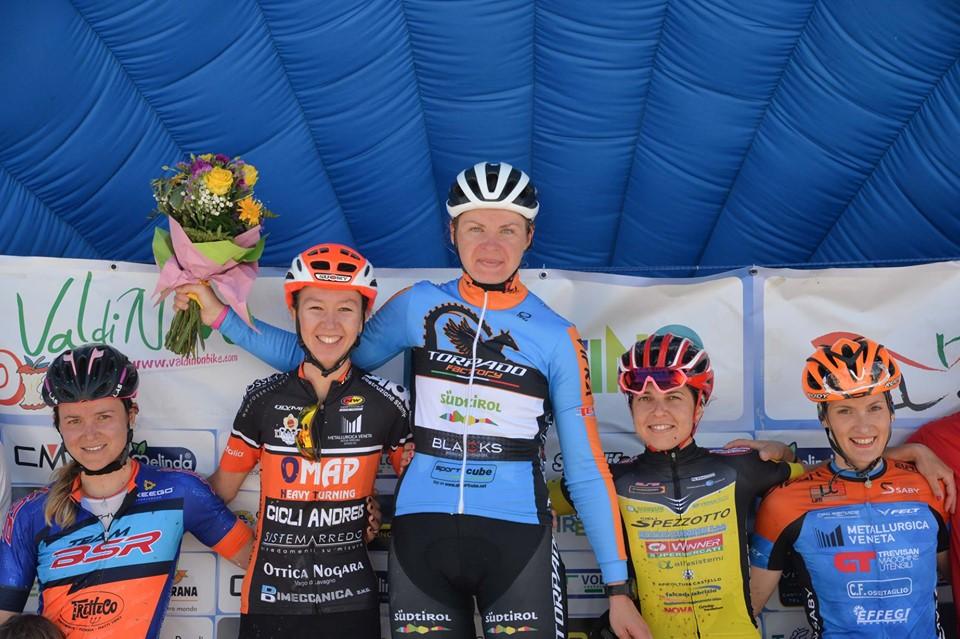 Nosellari Bike 2019 podio femminile