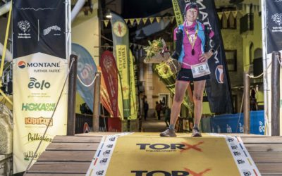 Silvia Trigueros Garrote vince il Tor des Geants 2019