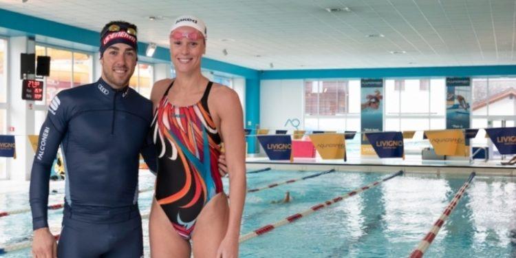 Pellegrini e Pellegrino: gara di nuoto a Livigno. Guarda il video