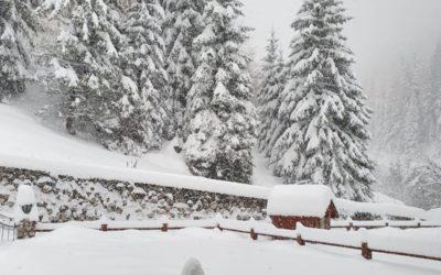 Video neve in Val Gardena 13 novembre 2019
