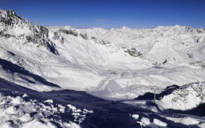 Piste aperte sul ghiacciaio Presena da sabato 9 novembre 2019