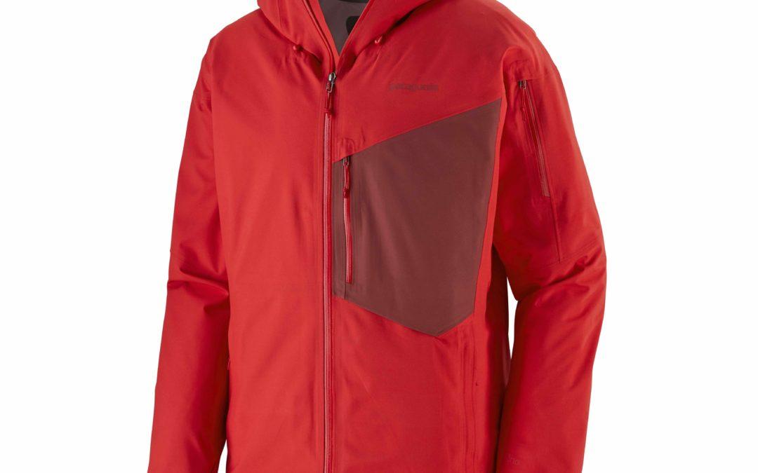 Patagonia Snowdrifter giacca: dal riciclo delle bottiglie un capo a prova di tempesta