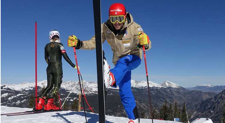 Sci alpino: italiani in allenamento a Copper Mountain