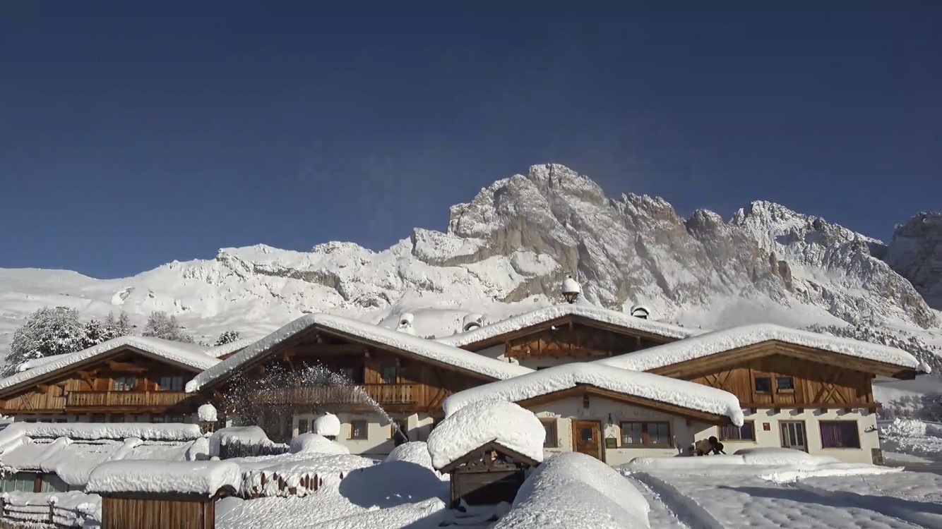 Neve in Val Gardena: Col Raiser, 18 novembre 219