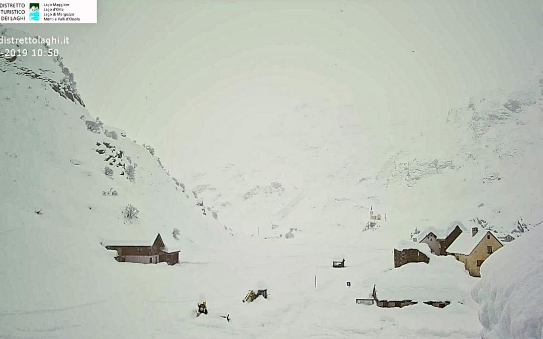 Val Formazza neve 27 novembre 2019