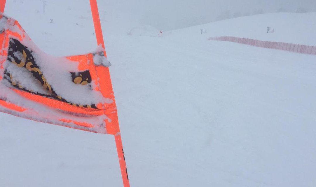 Discesa Libera Val Gardena Cancellata: forte neve sulla Saslong