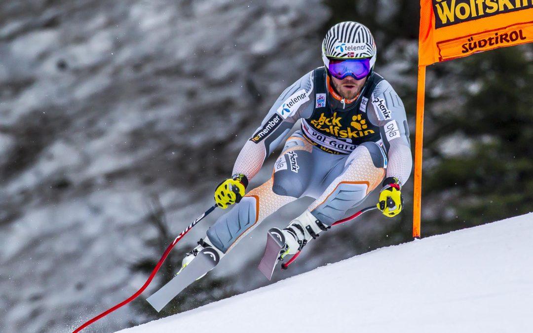 Val Gardena: risultati prova discesa libera 2019. Jansrud, Kilde e Clarey i più veloci. 4° Paris