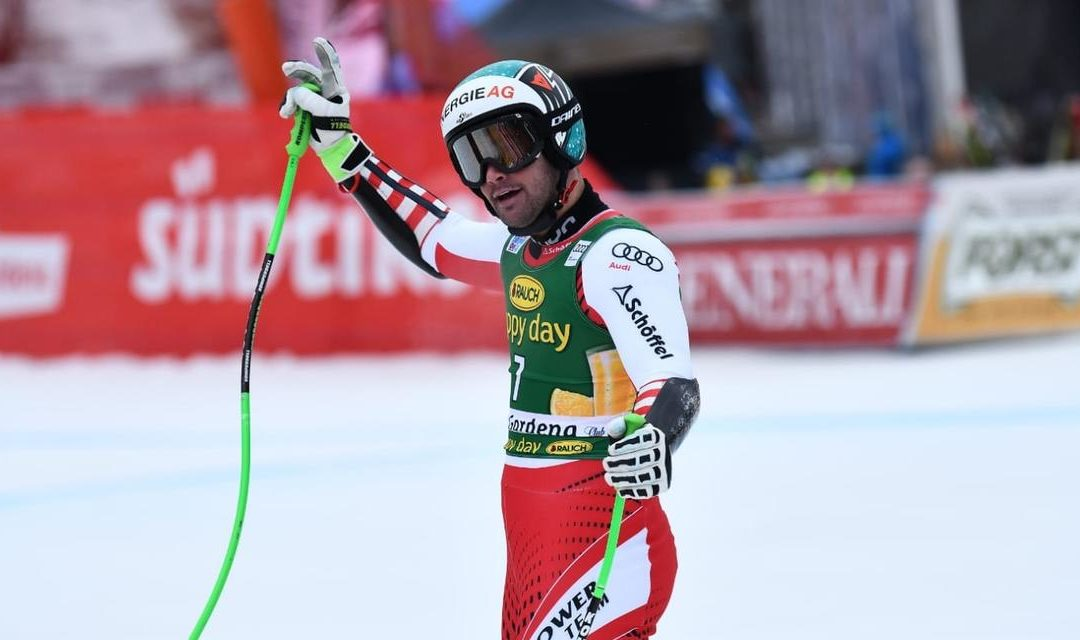 Classifica supergigante Val Gardena 2019: Vincent Kriechmayr vince tra le nubi