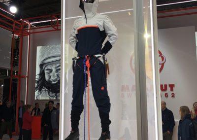 ISPO 2020 Mammut tuta Eiger X Alo