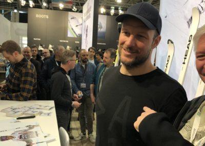 ISPO 2020 Axel Lund Svindal