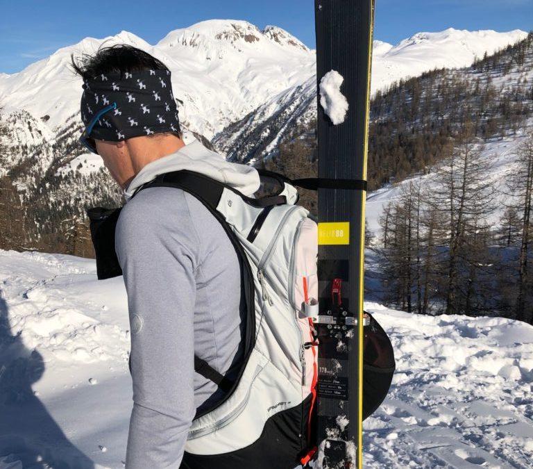 Test zaino Mammut Spindrift 26 sci alpinismo: solido, sicuro e facile da usare