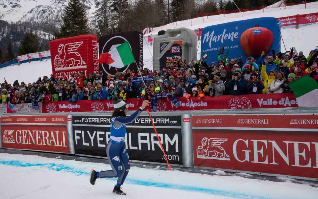 Sci alpino: Federica Brignone vince la Coppa del mondo di combinata alpina