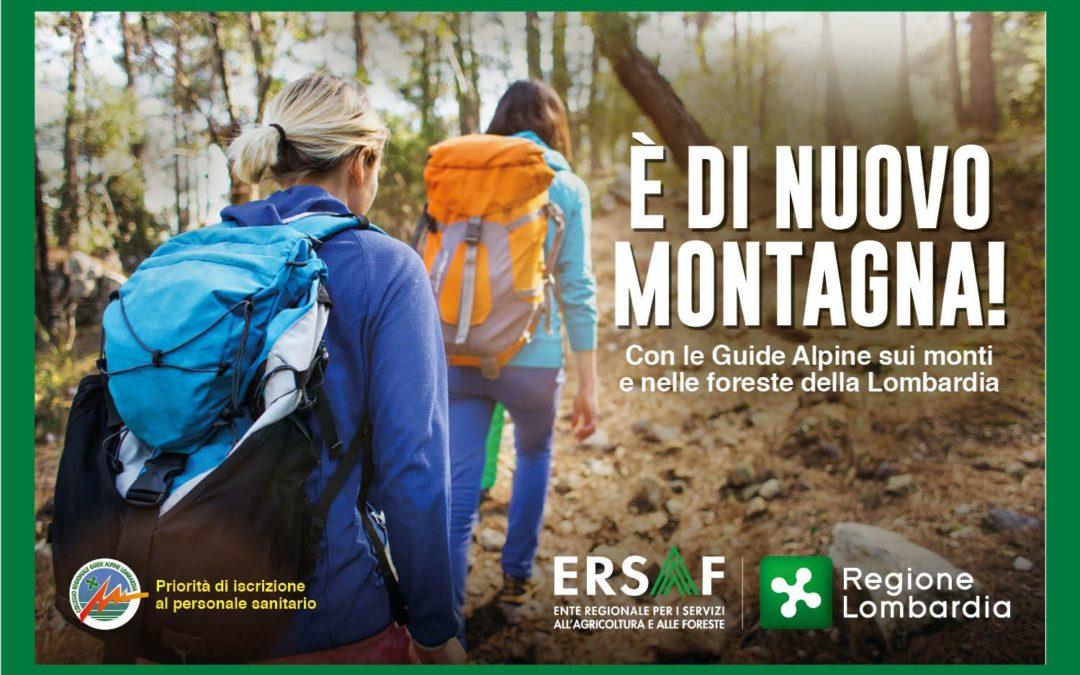 Calendario gite gratuite Guide Alpine Lombardia: tutte le date per l'estate 2020