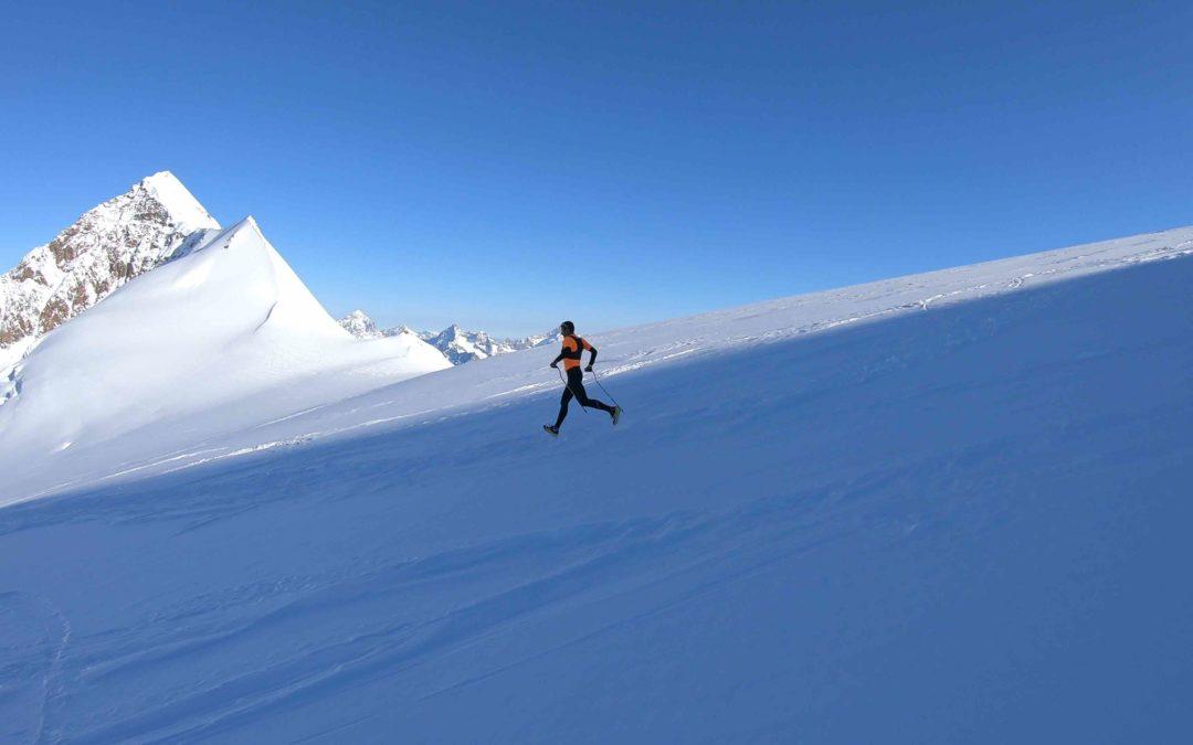 """Franco Collé: record sul Monte Rosa. Salita e discesa in 4h30'45"""""""