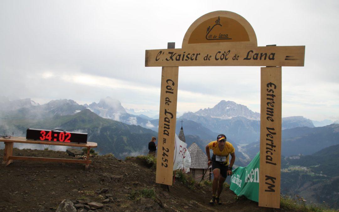 Classifiche Vertical Col di Lana 2020: vincono Mojca Koligar e Michele Boscacci