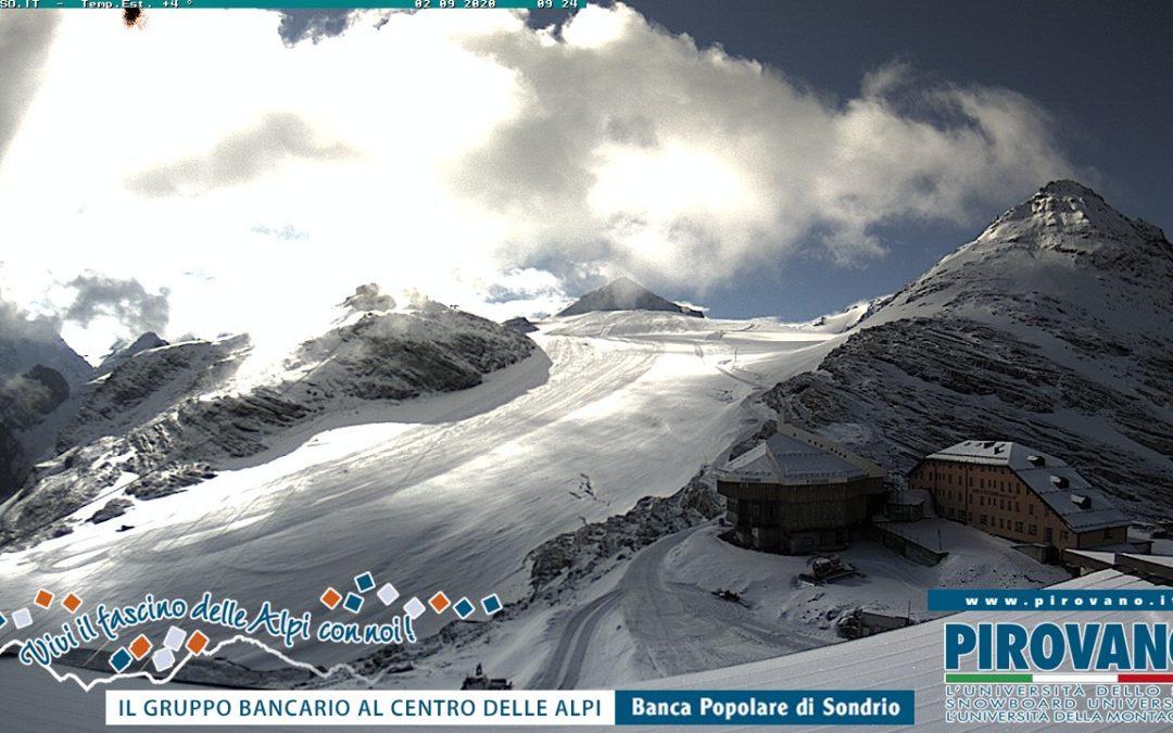 Nevicata 2 settembre 2020 sulle Alpi: selezione di fotografie