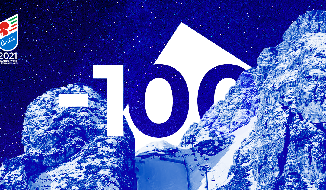 Mondiali di sci Cortina 2021: 100 giorni al via con spettacolo live streaming