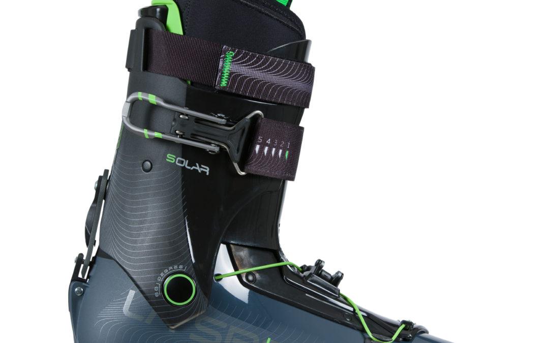 La Sportiva Solar scarponi sci alpinismo: leggeri in salita, sicuri e reattivi in discesa
