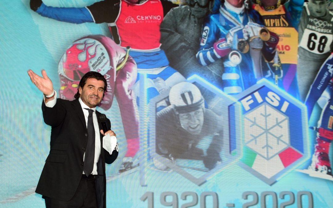 Alberto Tomba è atleta del secolo FISI