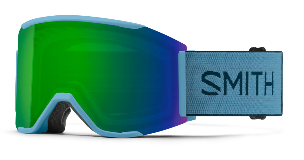 Smith Maschera Squad MAG Snorkel ChromaPop Sun Green Mirror