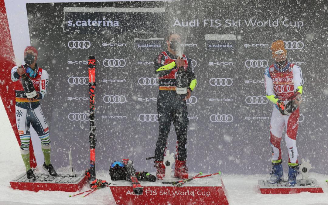 Classifica gigante Santa Caterina Valfurva 2020: vince Filip Zubcic