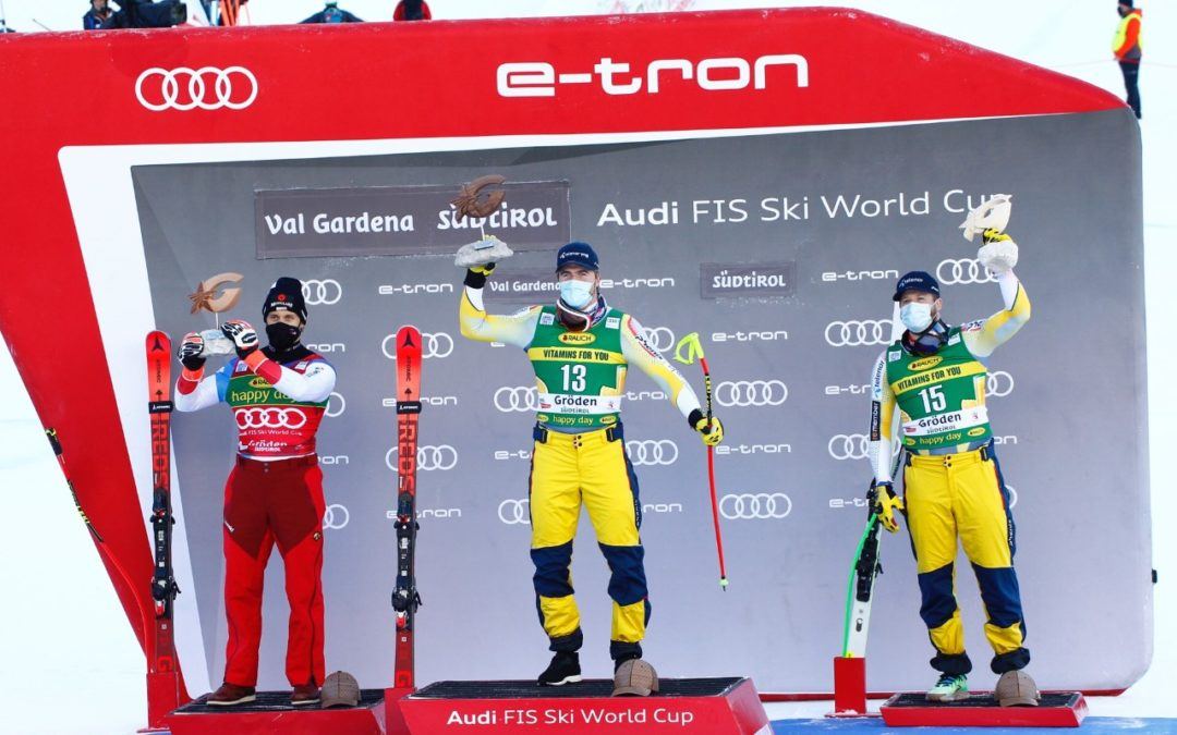 Classifica Supergigante Val Gardena 2020: stravince Kilde