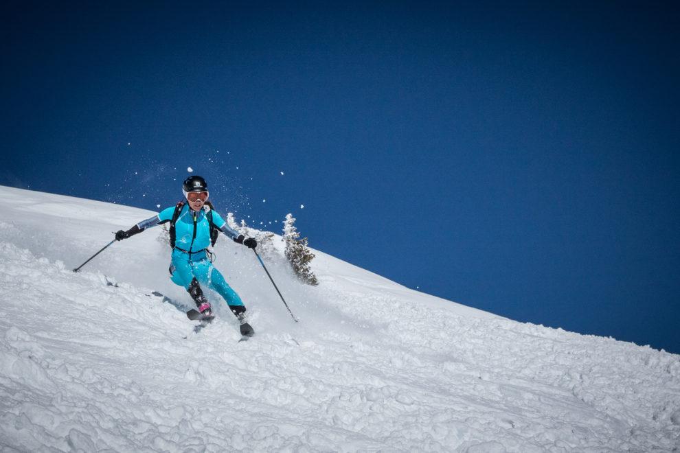 Emelie Forsberg Sci alpinismo - foto M.Torri