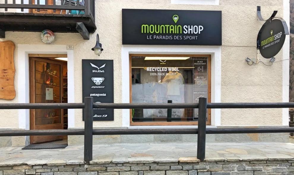 Apre il nuovo Mountain Shop a Cogne | Orari, indirizzo, prodotti