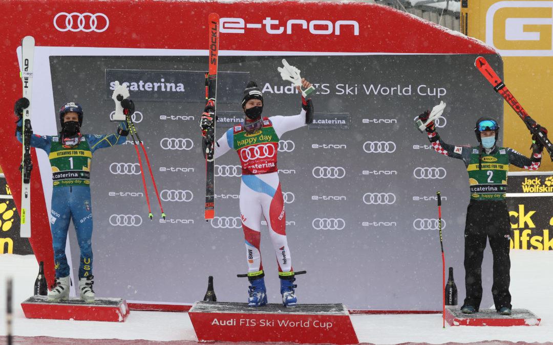 Classifica gigante Santa Caterina 7 dicembre 2020: vittoria a Marco Odermatt