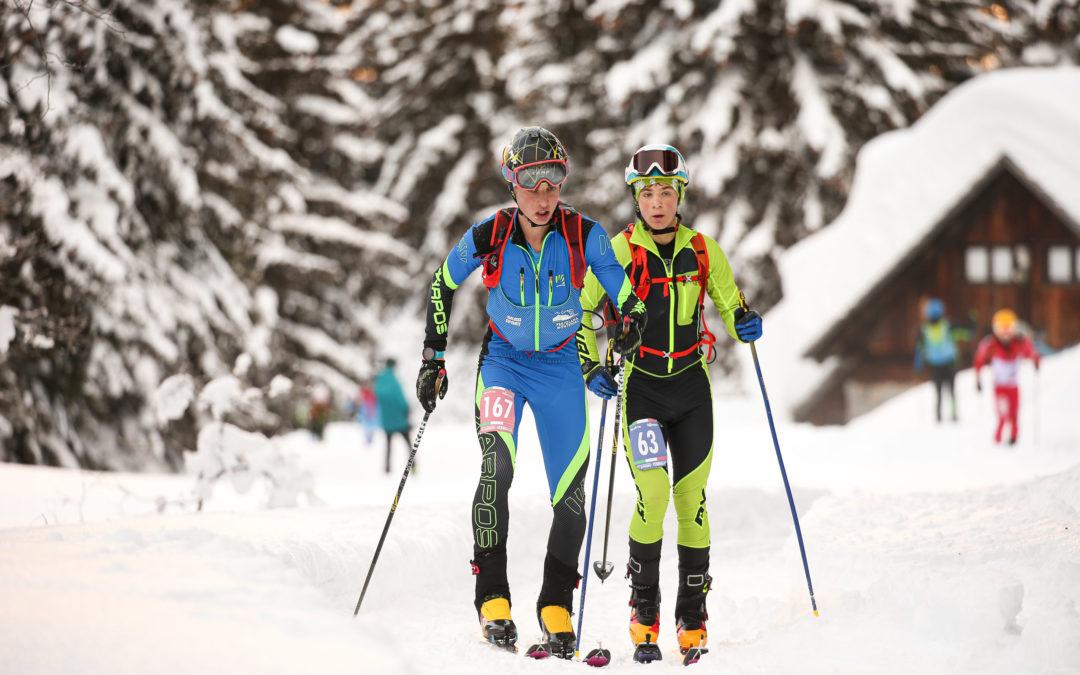 Classifiche Campionati Italiani giovanili sci alpinismo 2021: cronaca e fotografie
