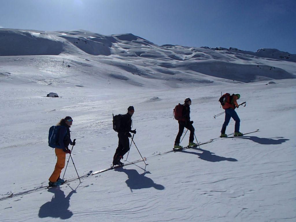 Sci alpinismo all'Alpe Devero