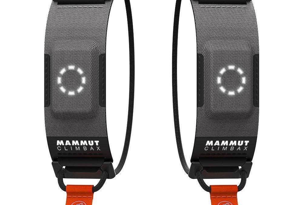 Mammut Climbax vince l'ISPO Gold Award 2021. Il primo tracker da arrampicata al mondo