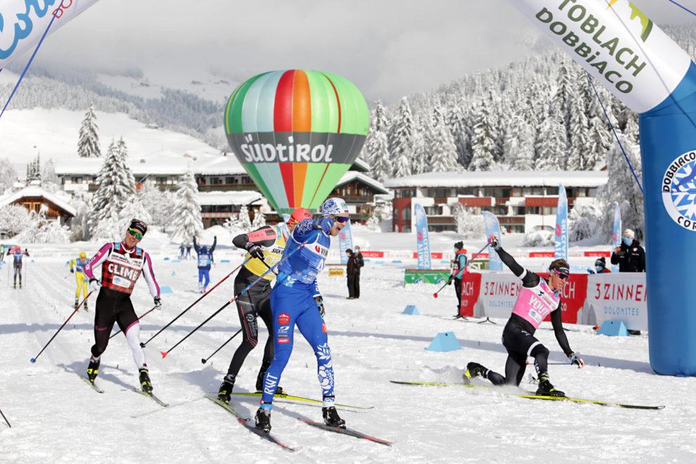 Vokuev Arrivo Sprint Cortina Dobbiaco 2021 - foto credits Newspower