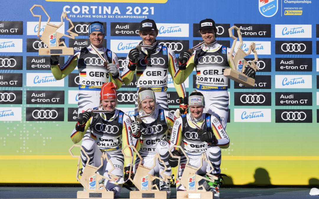 Classifica team event parallelo Cortina 2021