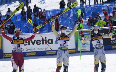 Classifica slalom speciale maschile Cortina 2021