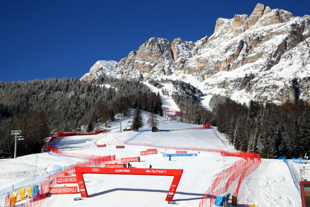 Audi FIS Ski World Cup Cortina 2019_Slope_Finish Area_©Pentaphoto_127141