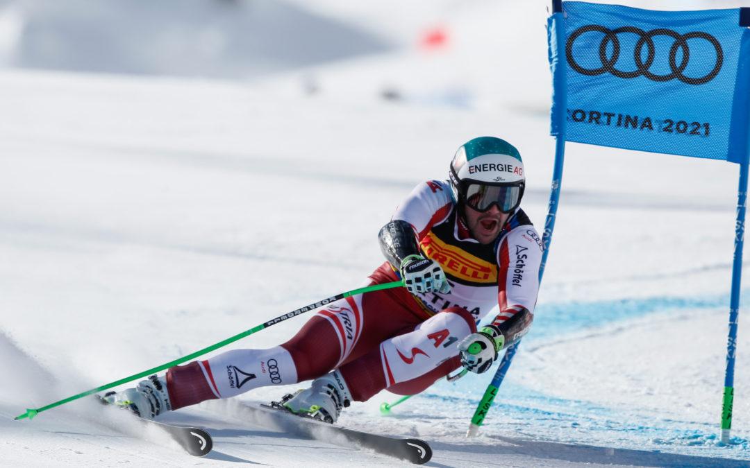 Classifica Supergigante maschile Mondiali Cortina 2021: medaglia d'oro a Vincent Kriechmayr