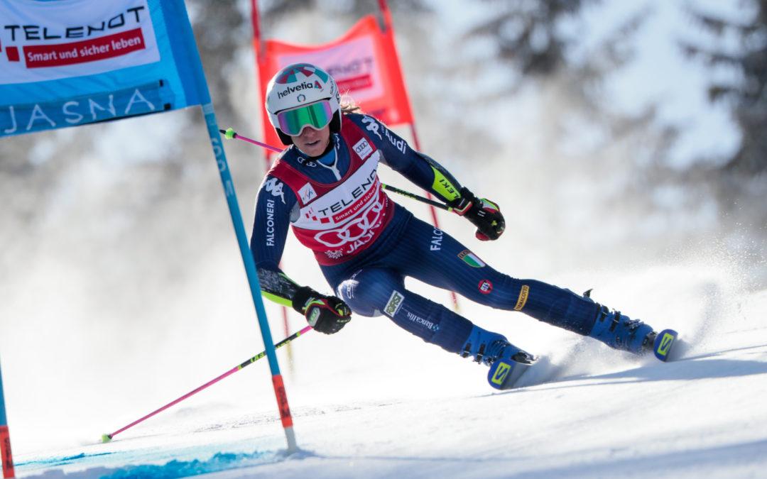 Marta Bassino entra nella storia dello sci italiano