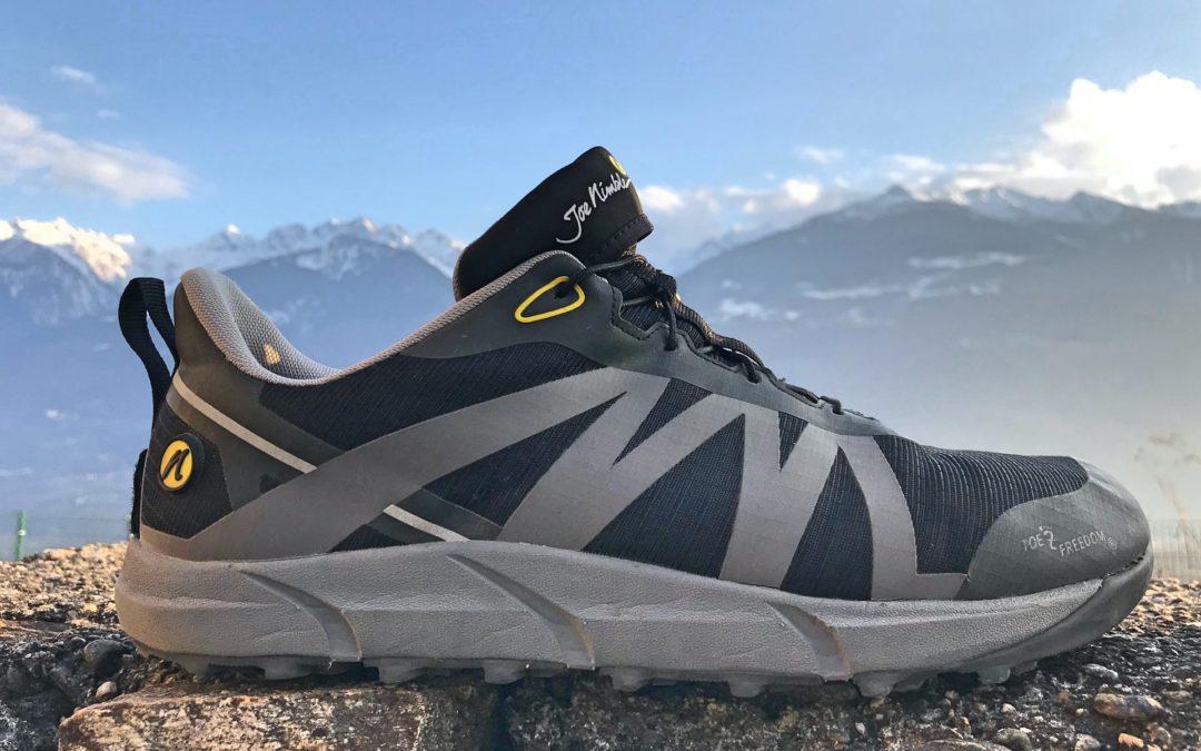 Scarpe Joe Nimble Toes Trail Addict: prova sulle Alpi. Scopri perchè sono diverse