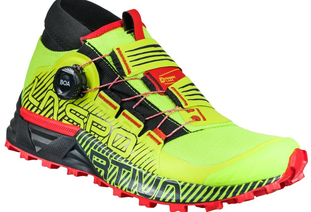 La sportiva Cyklon scarpe skyrunning con sistema di chiusura Dynamic Cage™ e BOA® Fit System