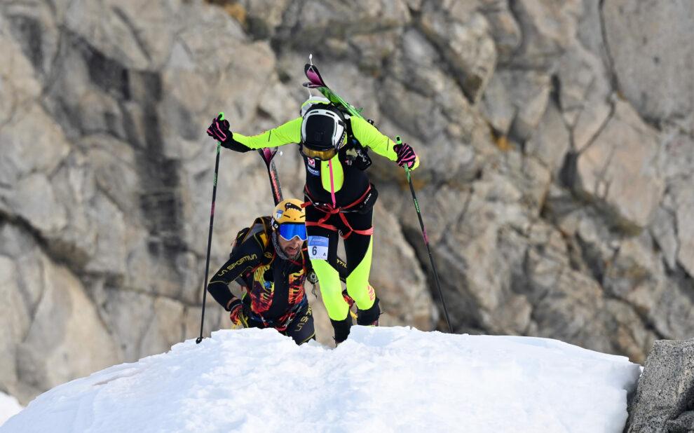 Adamello Ski Raid 2021 - Jakob Herrmann e William Bon Mardion