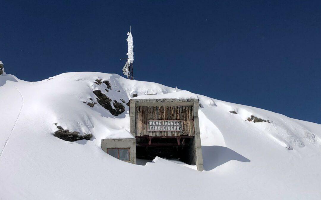 Piste da sci aperte in Valchiavenna: dal 30 maggio al 6 giugno e il 12 e 13 giugno