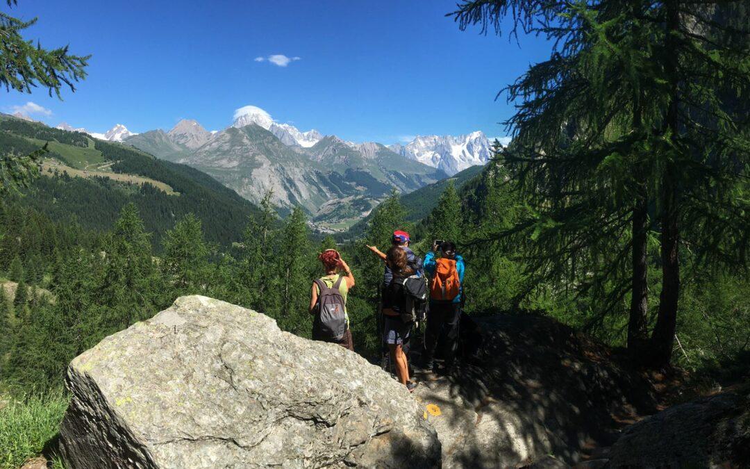 Trekking a La Thuile: i sentieri più belli, i punti di interesse e le guide della montagna