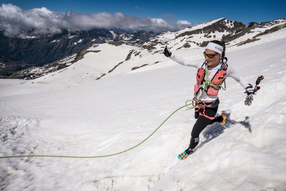 SCARPA ambassador Hillary Gerardi 2018 winner Monte Rosa SkyMarathon.©iancorles.com