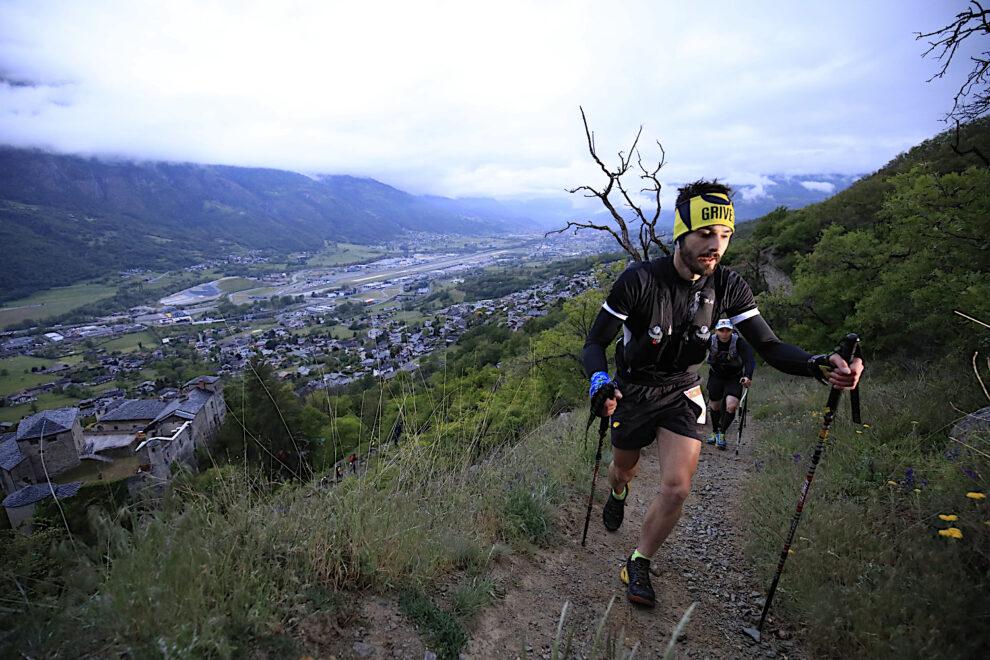 Quartrail gara di corsa in montagna