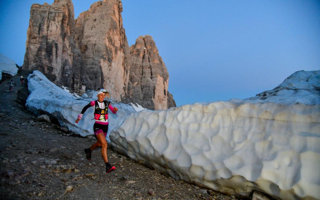 Classifica Lavaredo Ultra Trail 2021: record di Namberger e in rosa vittoria di Camille Bruyas