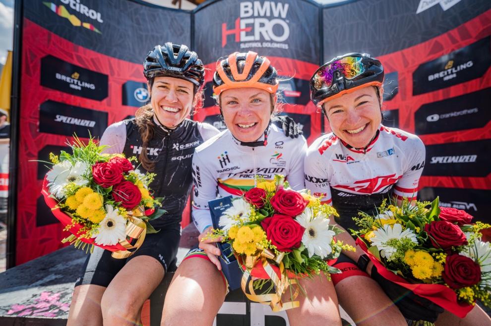 HERO Dolomites 2021_©wisthaler women podium