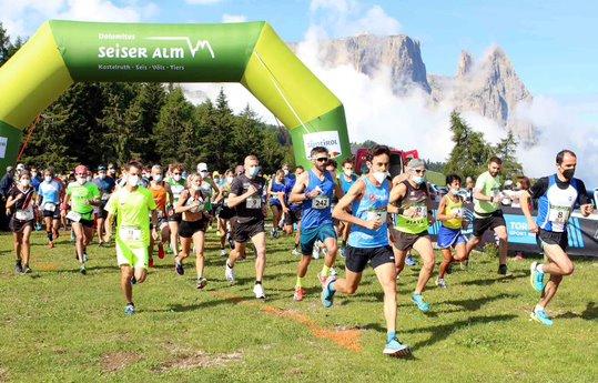 Classifica Mezza Maratona Alpe di Siusi 2021